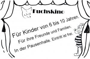 logo fuchskino mit text