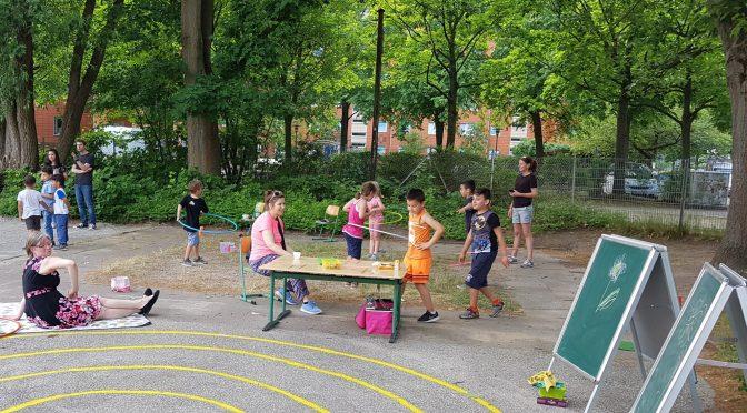 Spiel und Spaß beim Schulfest 2018